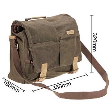 Caden Canvas Camera Shoulder Bag 33