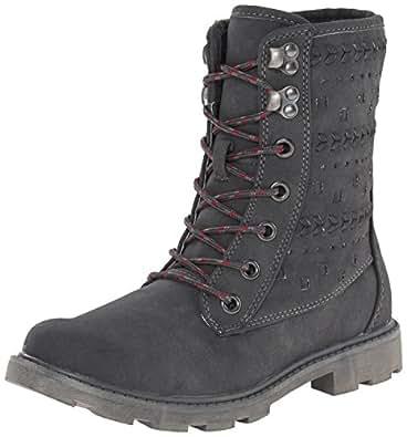 Amazon com roxy women s pike boots combat boot shoes