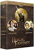 Image de Heroic Fantasy : Legend + Willow + Ladyhawke [Blu-ray]