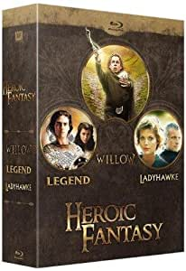 Heroic Fantasy : Legend + Willow + Ladyhawke [Blu-ray]
