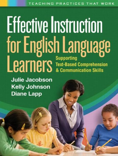 Effective Instruction for English Language Learners: 