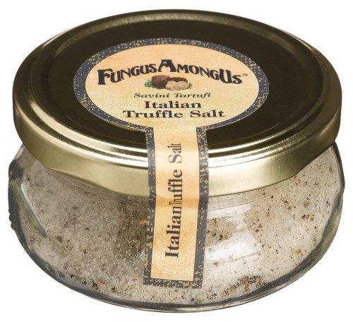 FungusAmongUs Truffle Salt, 3.5-Ounce Jar (Truffle Salt 10 Percent compare prices)