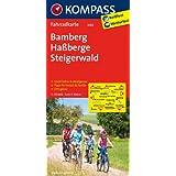 Bamberg - Haßberge - Steigerwald: Fahrradkarte. GPS-genau. 1:70000 (KOMPASS-Fahrradkarten Deutschland)