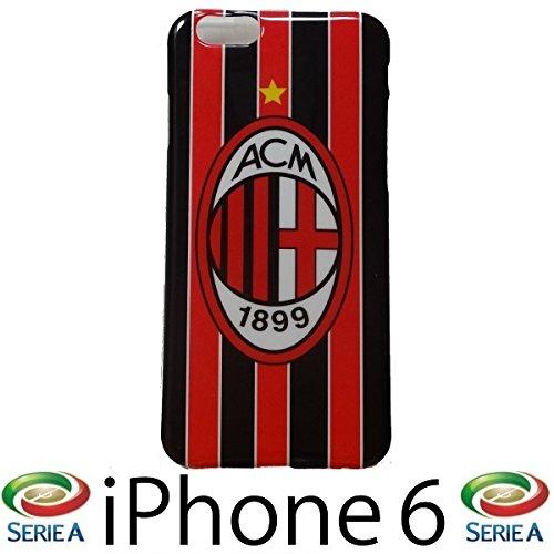 サッカー セリエA 【ACミラン】 iPhone6ケース 4.7インチ ☆液晶保護シート付☆
