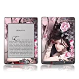 TaylorHe Colourful Decal Vinyl Skin for Amazon Kindle Touch Ultra-slim protection with pretty patterns MADE IN BRITAIN Beautiful Girl