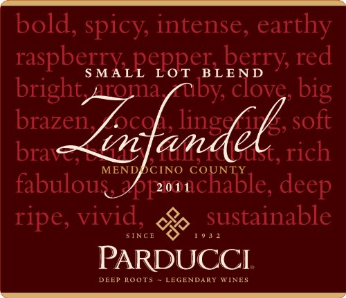 Parducci Wine Cellars 2011 Parducci Small Lot Blend Mendocino County Zinfandel 750 mL