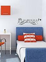 "Ambiance-sticker Vinilo Decorativo ""Des rêves plein la tête"""