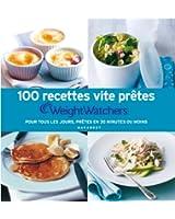 100 recettes vite prêtes Weight Watchers