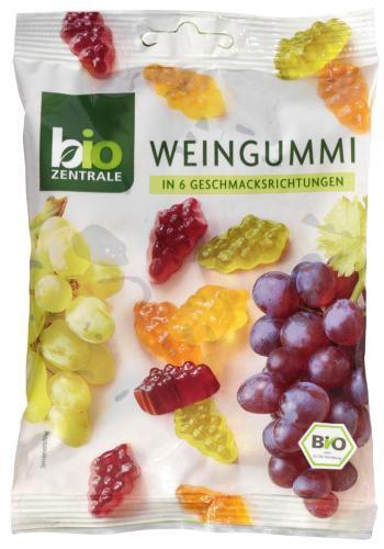 BioZentrale Bio Weingummi, 6er Pack (6 x 150 g) - Bio