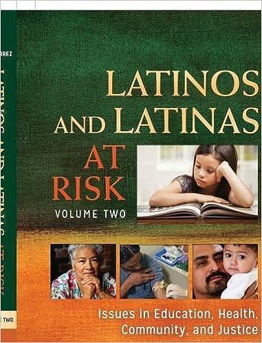 Book cover: latinos and latinas at risk