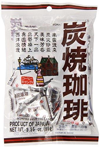Kasugai Sumiyaki Japanese Roasted Coffee Candy - 3.35 Oz. (Coffee Japanese compare prices)