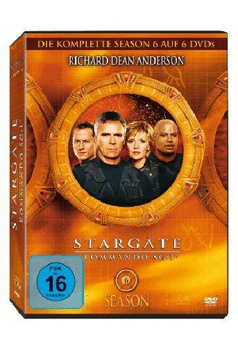 Stargate Kommando SG-1 - Season 6 (6 DVDs)