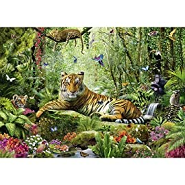 Puz 1500 Jungle Tigers Sch Multi