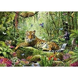 Puz 1500 Jungle Tigers Sch Multi