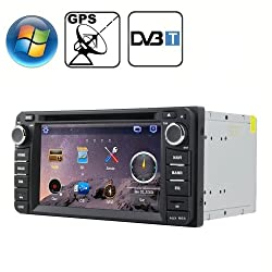 See Rungrace 6.2 inch Windows CE 6.0 TFT Screen In-Dash Car DVD Player for TOYOTA with Bluetooth / GPS / RDS / DVB-T Details