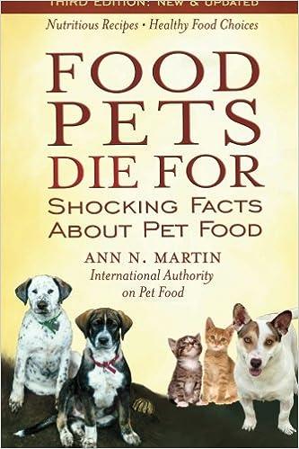 Food pets die for pdf