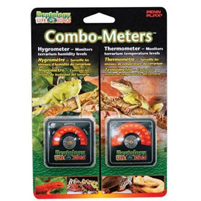 Reptile Hygrometer Humidity & Temperature Sensor Combo Pack