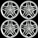 Pontiac 16″ Chrome Hub Caps Wheel Covers Hubcap Set