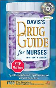 Davis drug guide 13th edition isbn