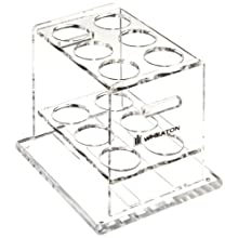 Wheaton 805015 Acrylic Storage Rack for Use With Wheaton Hybridization Bottles