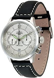 Zeno Watch Basel Men's Automatic Watch Retro Tre 6302BHD-g3 with Leather Strap