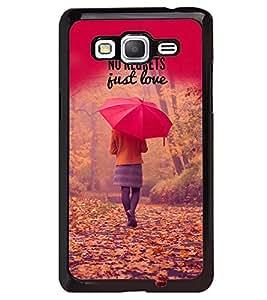 PRINTVISA Quotes Love Case Cover for Samsung Galaxy Core Prime