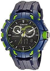 Sonata digital watch for Men-77045PP04J