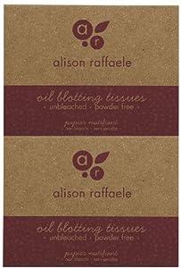 Alison Raffaele Oil Blotting Tissues 100 ea from Alison Raffaele Cosmetics