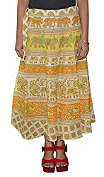Beautiful Cotton Skirt From the House Of Pezzava (Free Size)
