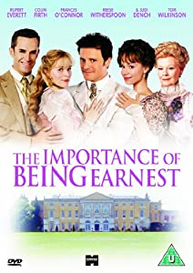 The Importance Of Being Earnest [DVD] [2002]