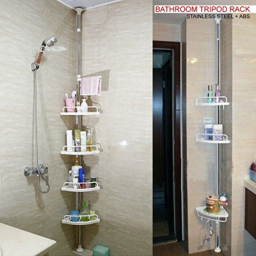 dnyc-120cm-300cm-4-tier-adjustable-stainless-telescopic-shower-corner-bathroom-shelf-rack-caddy-heav