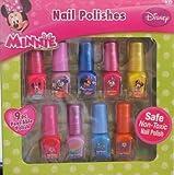 Minnie Mouse 9pc Peel-able Nail Polish