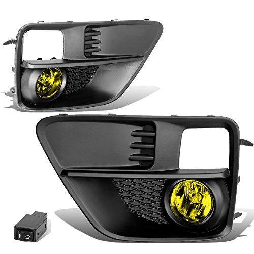 subaru-wrx-sti-pair-of-bumper-driving-fog-lights-wiring-switch-amber-lens