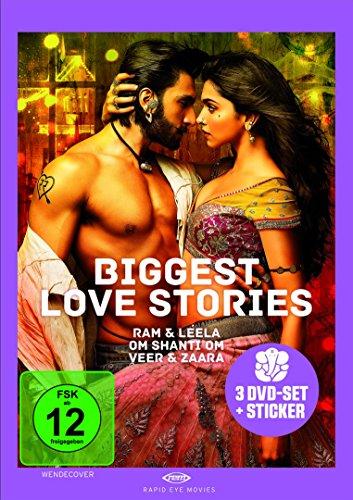 Biggest Love Stories [3 DVDs]
