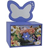 Disney Fairies Jewelry Box With Removable Mirror