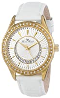 Lucien Piccard Women's LP-12721-YG-02 Crosa Analog Display Japanese Quartz White Watch by Lucien Piccard