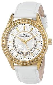 Lucien Piccard Women's LP-12721-YG-02 Crosa Analog Display Japanese Quartz White Watch by Lucien Piccard