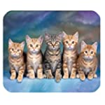 Chat Grincheux - Gaming Mousepad Tapi...