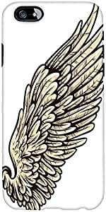 Snoogg Wings Vector Element Designer Protective Back Case Cover For Apple Iph...