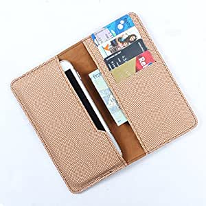 DooDa PU Leather Case Cover For Videocon A15