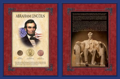 American Coin Treasures Famous Speech Series Abraham Lincoln Gettysburg Address