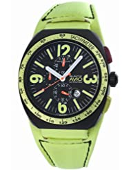 Montres De Luxe Men's BK4806 Black Avio Summer Quartz Chronograph Black Dial Watch