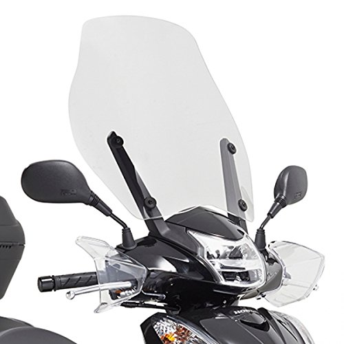 Givi Parabrezza Trasparente per Honda-SH 300 i dal 2015 fino al 2016