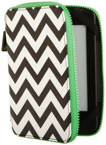 punchcase-by-leslie-hsu-ace-zip-around-cover-black-white-chevron-will-only-fit-kindle-paperwhite-kin