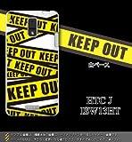 HTC J ISW13HT対応 携帯ケース【1568KEEP OUT】