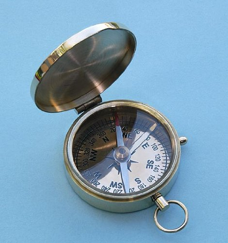 Polished Standard Pocket Compass (Stanley London)