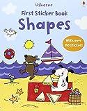 Shapes (Usborne First Sticker Books)