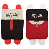 Set de 2 chaufferettes Chat Boy et Girl
