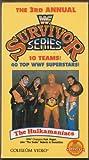 The 3rd Annual WWF Survivor Series: The Hulkamaniacs [VHS]