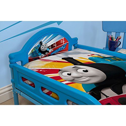 Thomas The Tank Engine Toddler Bed plus entièrement suspendue matelas